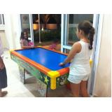 air game para festas infantis Parque Novo Mundo