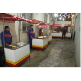 aluguéis de barracas de comida Tucuruvi
