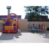aluguéis de brinquedos infláveis Campo Belo