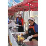 barraca de comida para casamento preço Ermelino Matarazzo