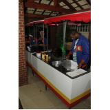 barraca de comida para festa junina Santa Cruz