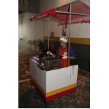 barraquinha de algodão doce para evento