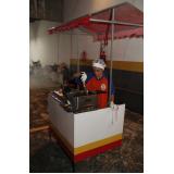 barraquinha de algodão doce para festa