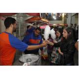 barraquinha de algodão doce para evento Piracicaba