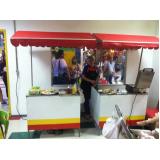 barraquinha de hot dog para alugar preço Grajau