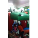 brinquedo inflável para locação Parque São Domingos