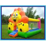 brinquedos infláveis para aniversários São Vicente