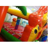 brinquedos infláveis Parque do Carmo