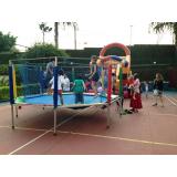 cama elástica infantil para festa preço Vila Morumbi