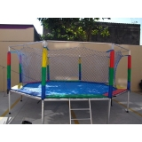 camas elástica infantis para festas Jardim Guarapiranga