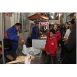 empresa de barraca de algodão doce para evento Vila Formosa