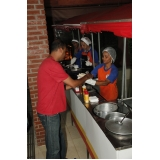 empresa de barraca de comida para festa Parque São Rafael