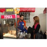 empresa de barraca de pipoca para festa infantil Guararema