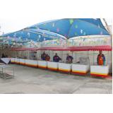 empresa de barraca para festa de aniversário Parque do Carmo