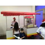 empresa de carrinho de pipoca para festa infantil Vila Mirante