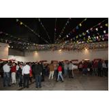 locações de barracas para festas Jardim Vazani