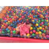 piscinas de bola infantis para festas Jardim Vazani