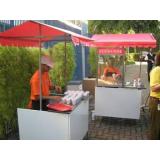 quanto custa barraquinha de comida para festa infantil Ibirapuera